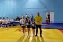 Первые в истории города Углича соревнования по прыжкам на двойном минитрампе