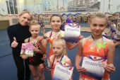 Результаты выступления в первенстве города Рыбинска по спортивной акробатике