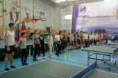 Новогодний турнир по настольному теннису