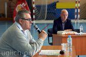 Встреча с главным тренером мужской сборной России по волейболу