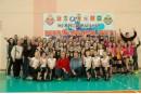 Прошли финальные игры межрайонной волейбольной лиги среди девушек