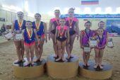 Угличские акробатки приняли участие в Первенстве и Чемпионате города Костромы